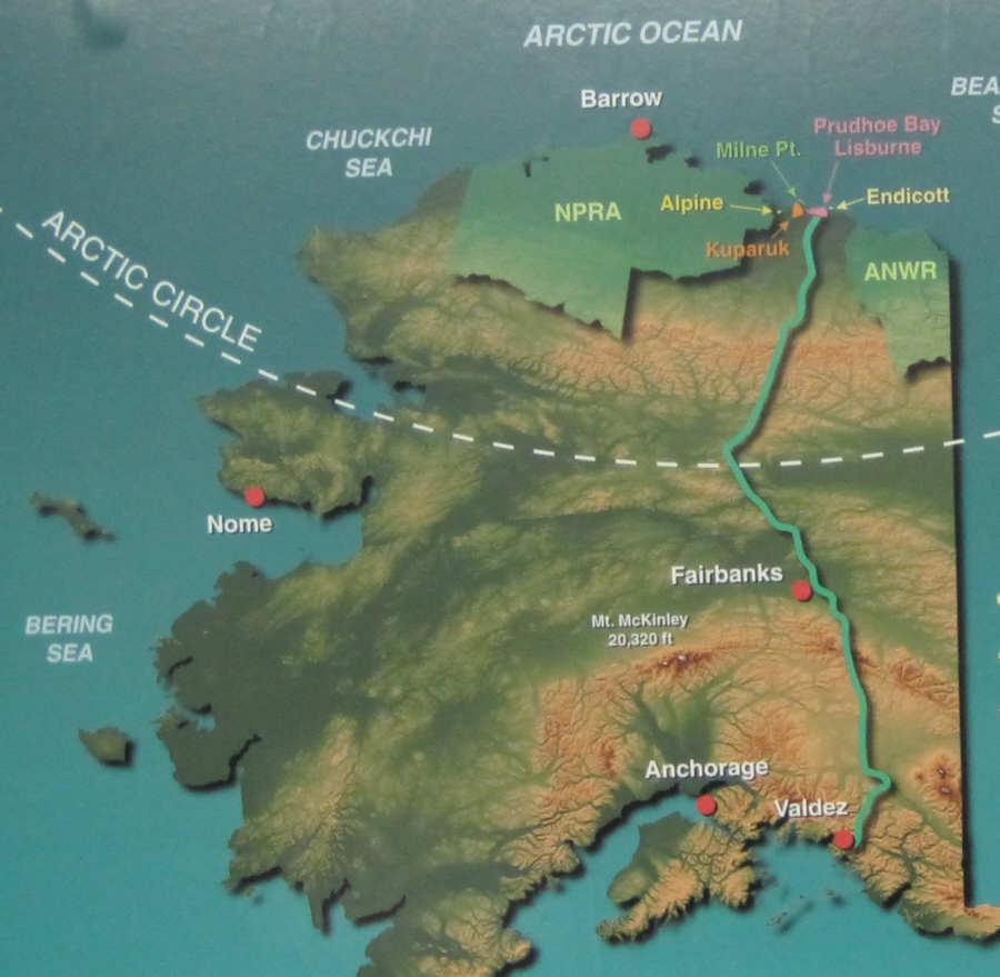 Polarkreis Alaska Karte.Alaska Highway Reiseinformationen Usa Und Kanada