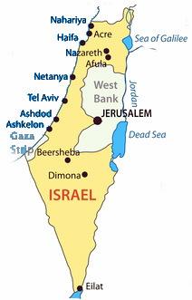 Israel Karte.Karteninformation Israel Navi Mieten Aktuelle Karte Mit Sperrgebieten